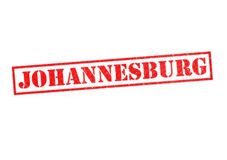 gauteng: JOHANNESBURG Rubber Stamp over a white background.