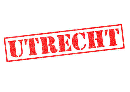 UTRECHT Rubber Stamp over a white background. photo
