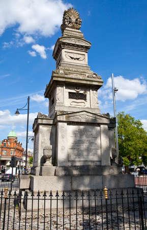 The Budd Memorial in Brixton, London Stock Photo - 22850425