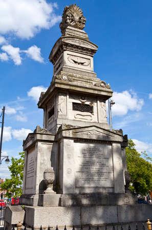 The Budd Memorial in Brixton, London Stock Photo - 22850426