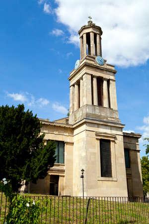 brixton: St Matthews Church in Brixton, London