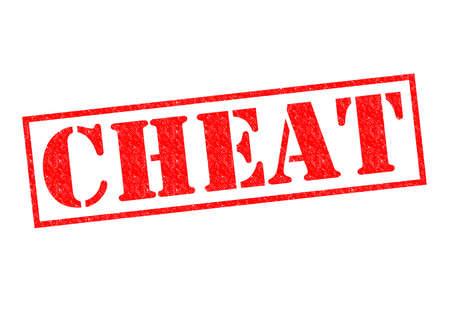 fraudster: INGANNARMI rosso Timbro di gomma su uno sfondo bianco.