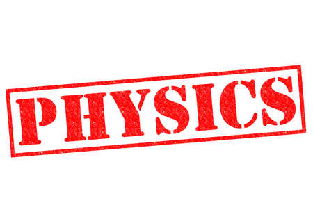 biophysics: PHYSICS red Rubber Stamp over a white background.
