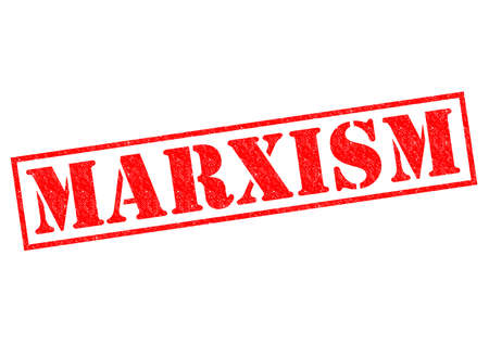 marxism: MARXISM red Rubber Stamp over a white background. Stock Photo