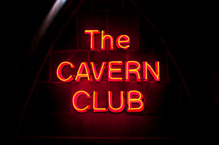 venues: The historic Cavern Club in Liverpool.  One of the venues in which The Beatles started their career. Editorial