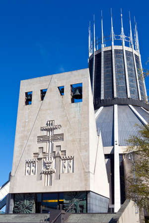 The modern exterior of Liverpool Metropolitan Cathedral  photo