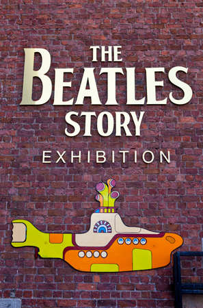 the beatles: The Beatles Story Exhibition in Liverpool