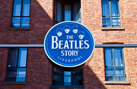 The Beatles Story Museum in Liverpool 版權商用圖片 - 27766415