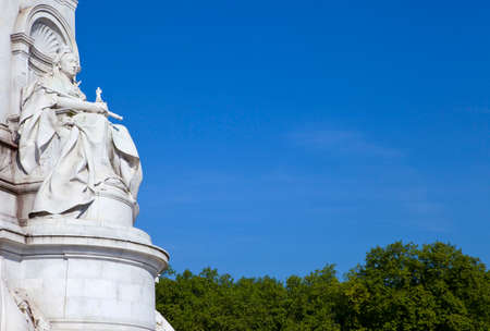 The beautiful Victoria Memorial in London.