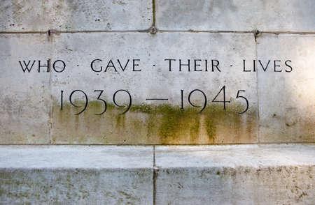 seconda guerra mondiale: Un memoriale per commemorare coloro che hanno dato la vita durante la seconda guerra mondiale.