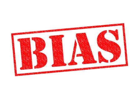 BIAS red Rubber Stamp over a white background.