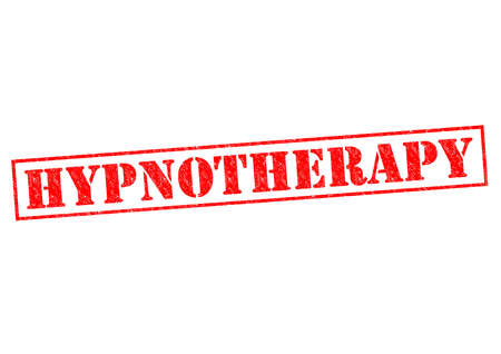 hypnotherapy: HYPNOTHERAPY red Rubber Stamp over a white background.
