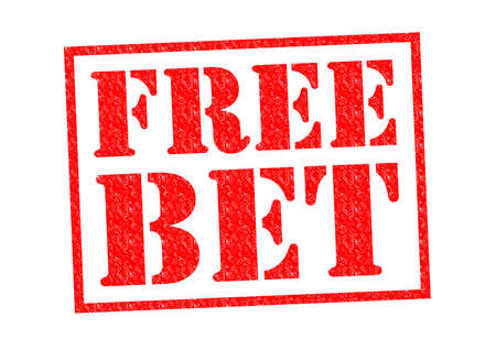 longshot: FREE BET red Rubber Stamp over a white background.