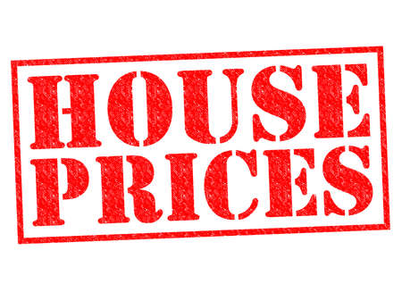 deeds: HOUSE PRICES red Rubber Stamp over a white background.