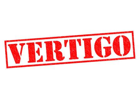 vertigo: VERTIGO red Rubber Stamp over a white background.