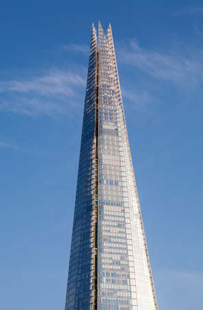 and the magnificent: The magnificent Shard skyscraper in London.