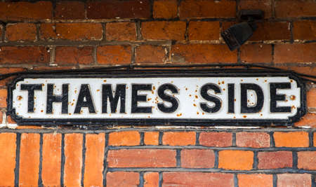 berkshire: Thames Side in Windsor, Berkshire.