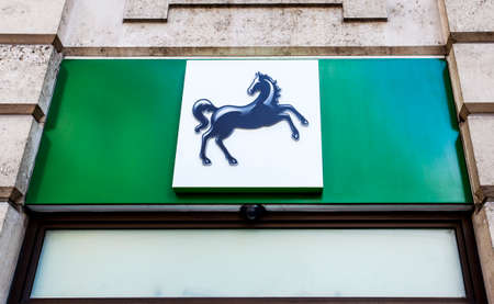 lloyds: UNITED KINGDOM - JUNE 10TH 2015: A Lloyds Bank outlet in the UK on 10th June 2015.