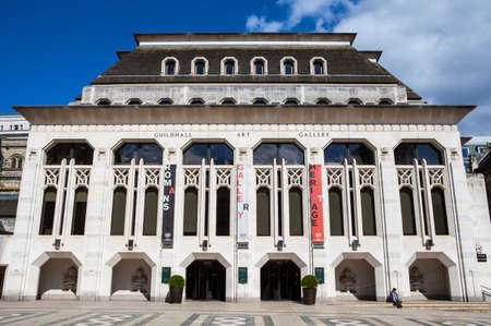 art gallery: The Guildhall Art Gallery di Londra.