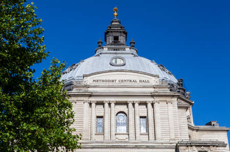 methodist: The Methodist Central Hall in the City of Westminster, London.