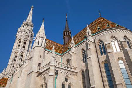 matthias church: The magnificent Matthias Church in Budapest, Hungary. Editorial