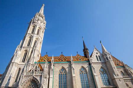 matthias church: The historic Matthias Church in Budapest, Hungary.