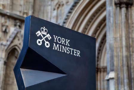 york minster: York Minster in the historic city of York, England. Editorial