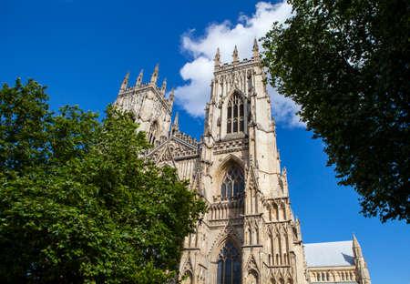 minster: The historic York Minster in York, England.