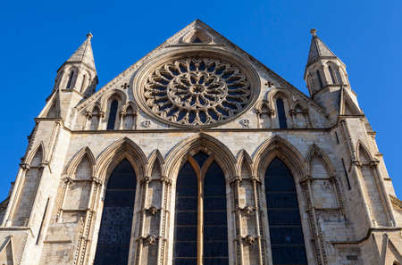 york minster: The historic York Minster in York, England.