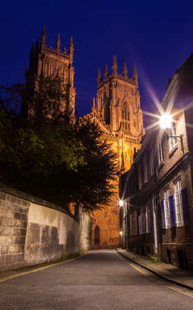 york minster: A view of the magnificent York Minster in the city of York, England.