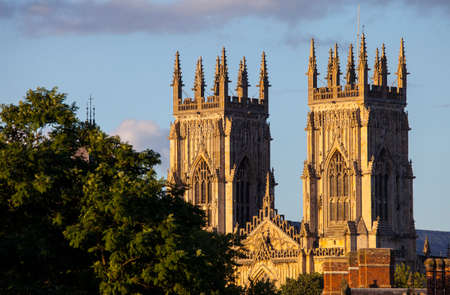 minster: The magnificent York Minster in York, England.