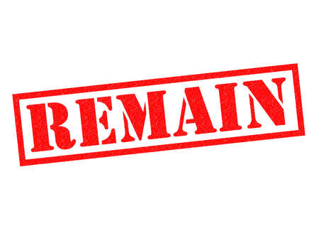remain: REMAIN red Rubber Stamp over a white background.