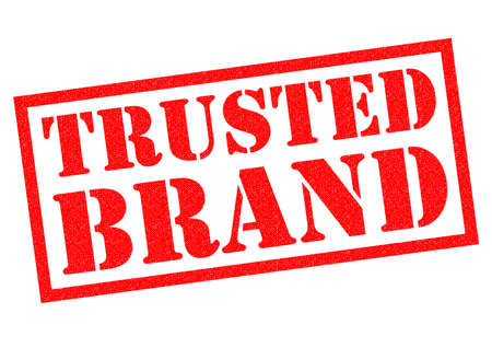 established: TRUSTED BRAND red Rubber Stamp over a white background.