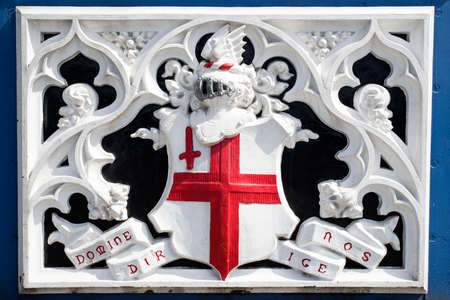 motto: The City of London Domine Dirige Nos motto on Tower Bridge - the latin motto means Lord Guide Us.