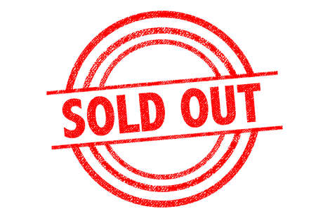 sell out: SOLD OUT Rubber Stamp over a white background.