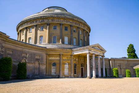 The beautiful Ickworth House in Suffolk, UK.