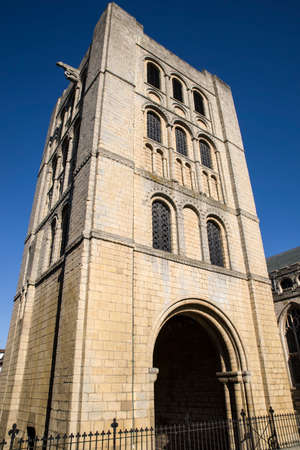 gothic revival: A view of the historic Norman Tower in Bury St. Edmunds, Suffolk.