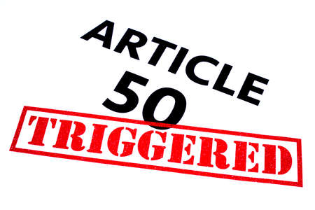 article: ARTICLE 50 title rubber stamped as TRIGGERED.