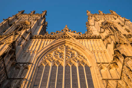 The historic York Minster in the city of York in North Yorkshire, England.