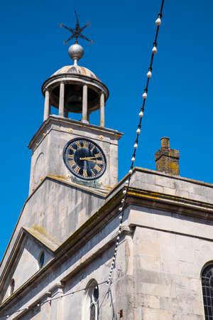 ウェイマス、英国の聖メリーズ教会のビュー。