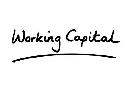 Working Capital handwritten on a white background.