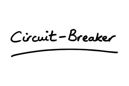 Circuit-Breaker handwritten on a white background.