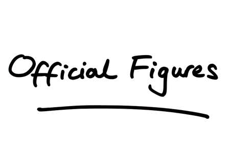 Official Figures, handwritten on a white background.