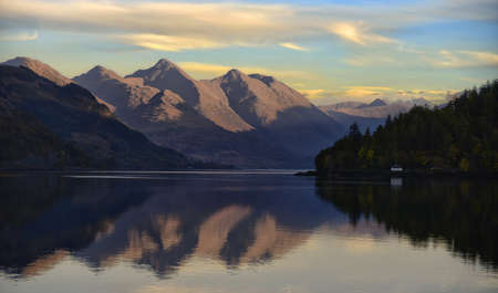 Reflections of the Five Sisters of Kintail