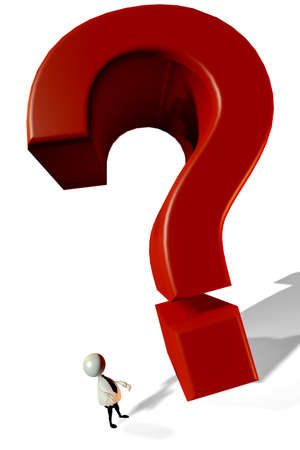 Big Question Stock Photo - 10808647