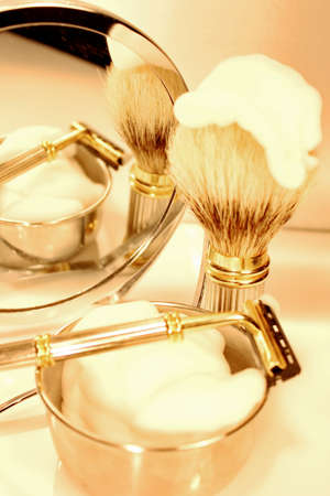 Shaving set photo