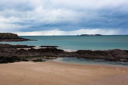 st malo: An amazing sea landscape in Brittany near Saint-Malo