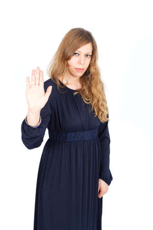 Beautiful arabic woman posing photo