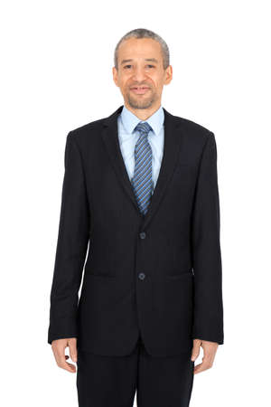 Handsome man doing different expressions in different sets of clothes: portrait Stock Photo