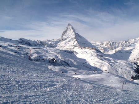 wintry: The Matterhorn